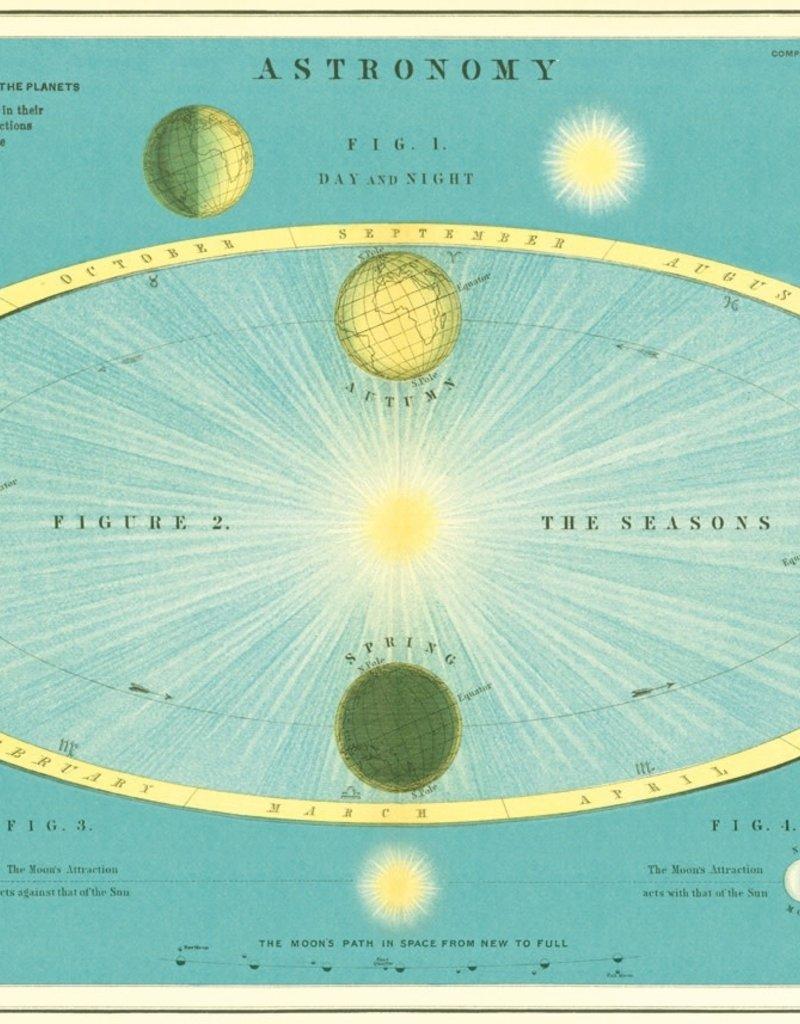 "Cavallini Astronomy, Poster Print, 20"" x 28"""