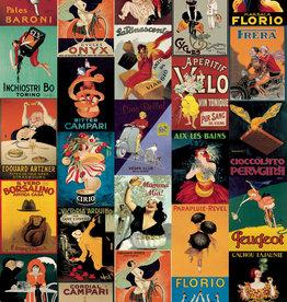 "Cavallini Vintage Posters, Poster Print, 20"" x 28"""