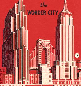 "Cavallini New York the Wonder City, Cavallini Poster Print, 20"" x 28"""