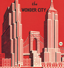 "Cavallini New York the Wonder City, Poster Print, 20"" x 28"""
