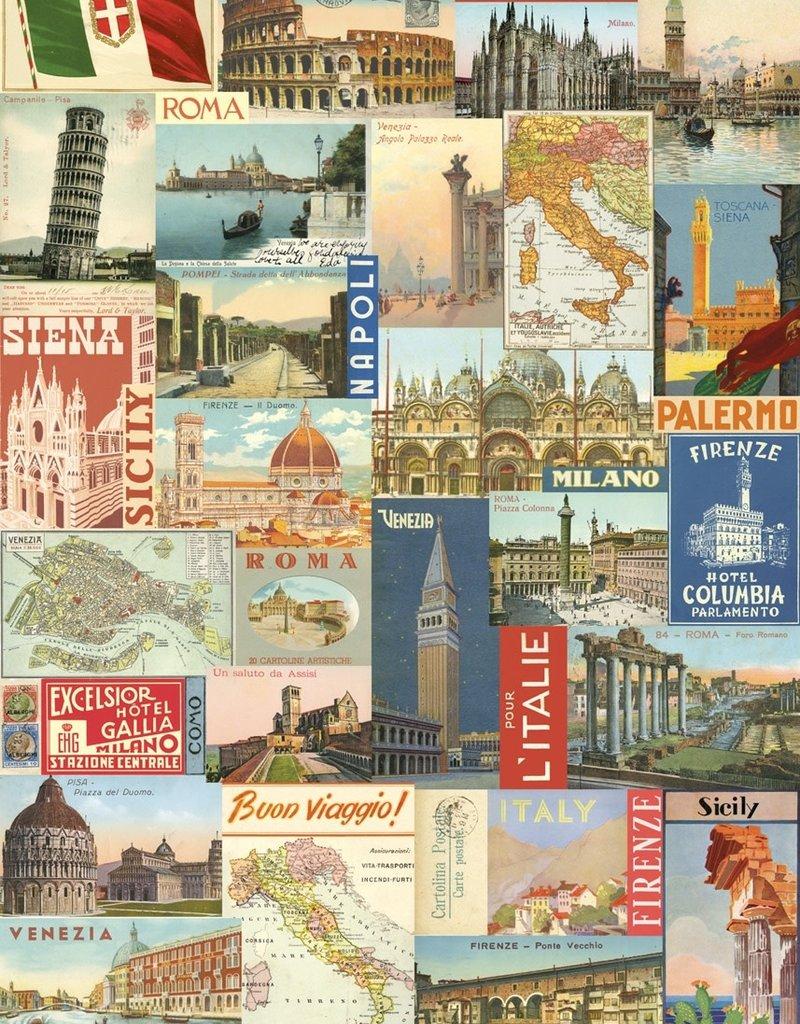 "Cavallini Italy Post Card, Poster Print, 20"" x 28"""