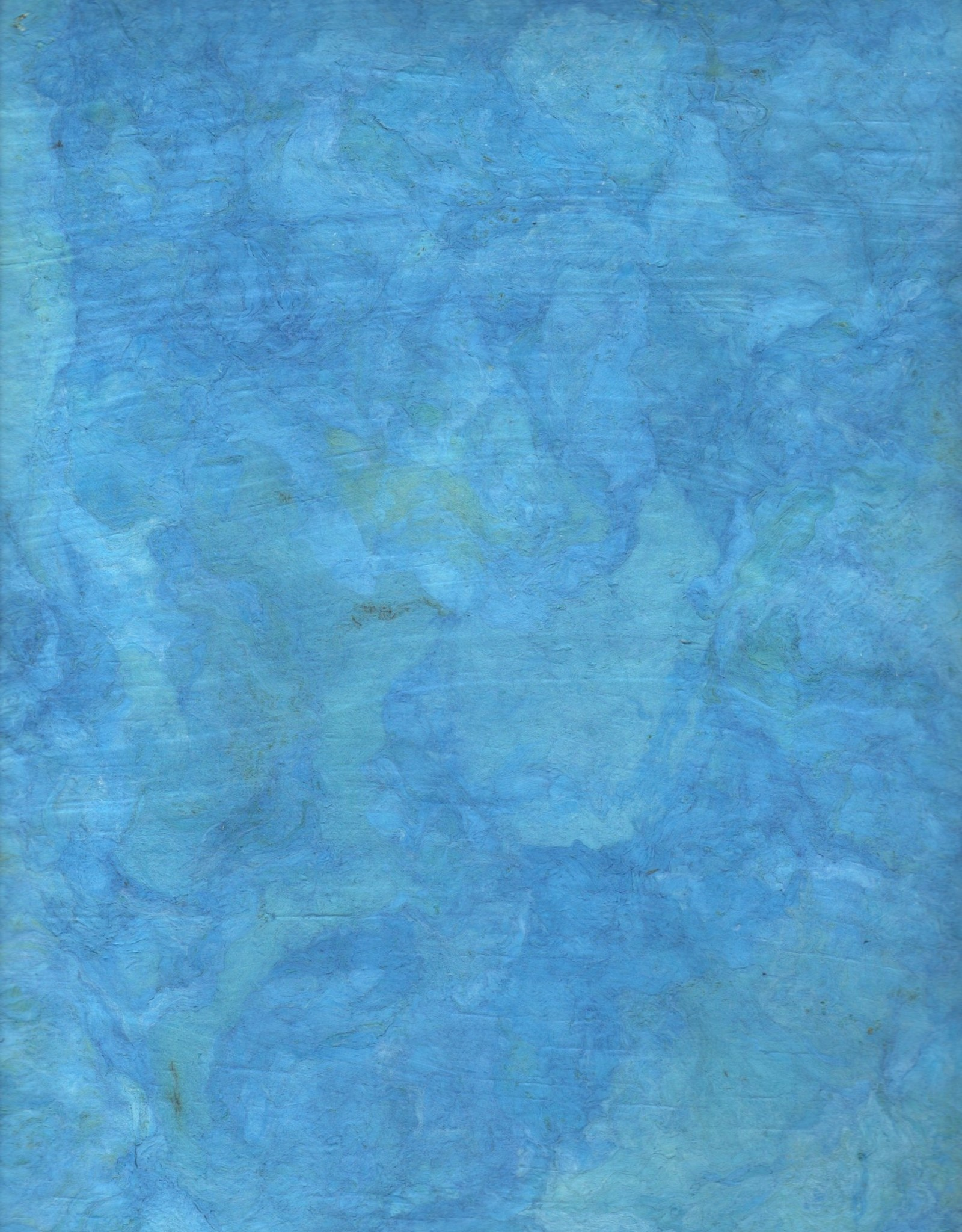 """Amate Paper Turquoise, 15"""" x 23"""""""