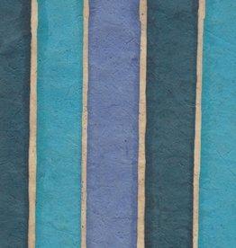"""Lokta Batik Stripes, 20"""" x 30"""""""
