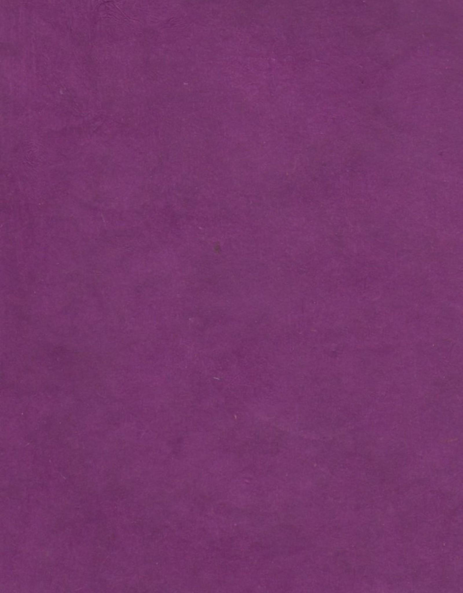 "Lokta Deep Purple, 20"" x 30"", 60gsm"