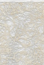 """Mexico Amate Lace Ivory, 15"""" x 23"""""""
