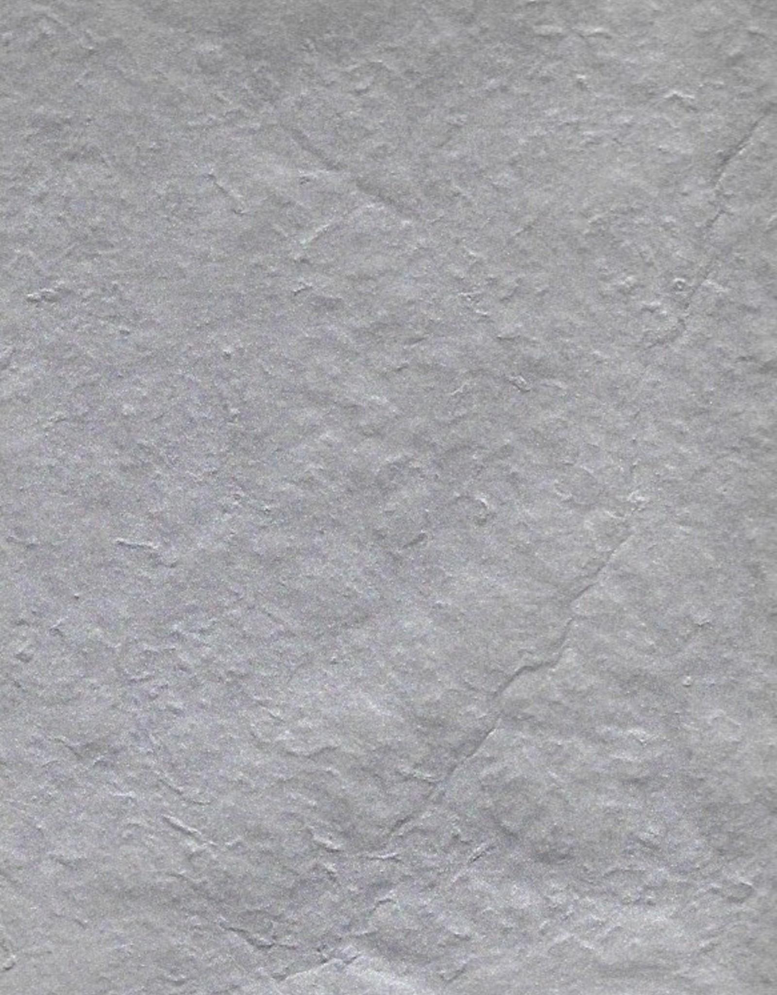 "Lokta Metallic Silver, 20"" x 30"""