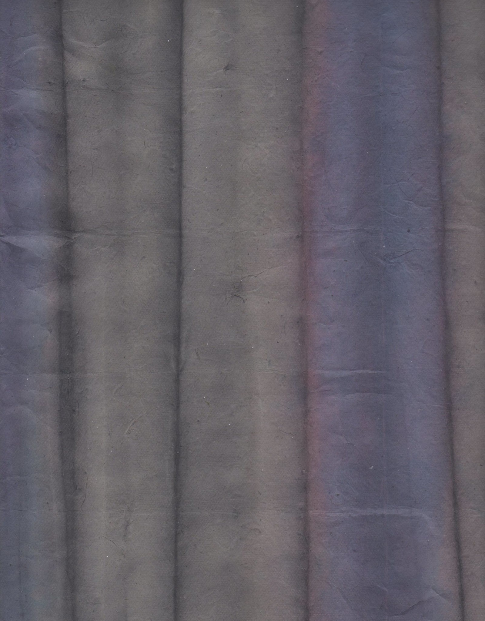 "Lokta Rangichangi, Ultramarine and Gray, 19"" x 29"""