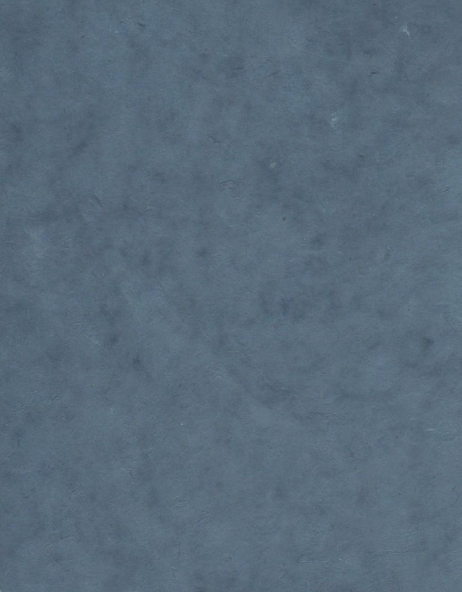 "Lokta Storm Blue, 20"" x 30"", 60gsm"