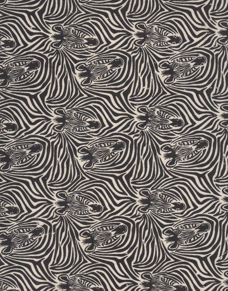 "Nepal Lokta Zebra Paper, 22"" x 30"""