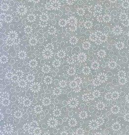 "Japan Japanese Rayon Lace, Daisies, 21"" x 31"""
