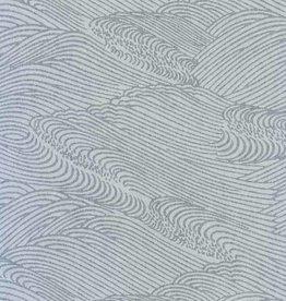 """Japanese Rayon Lace, Sea, 21"""" x 31"""""""