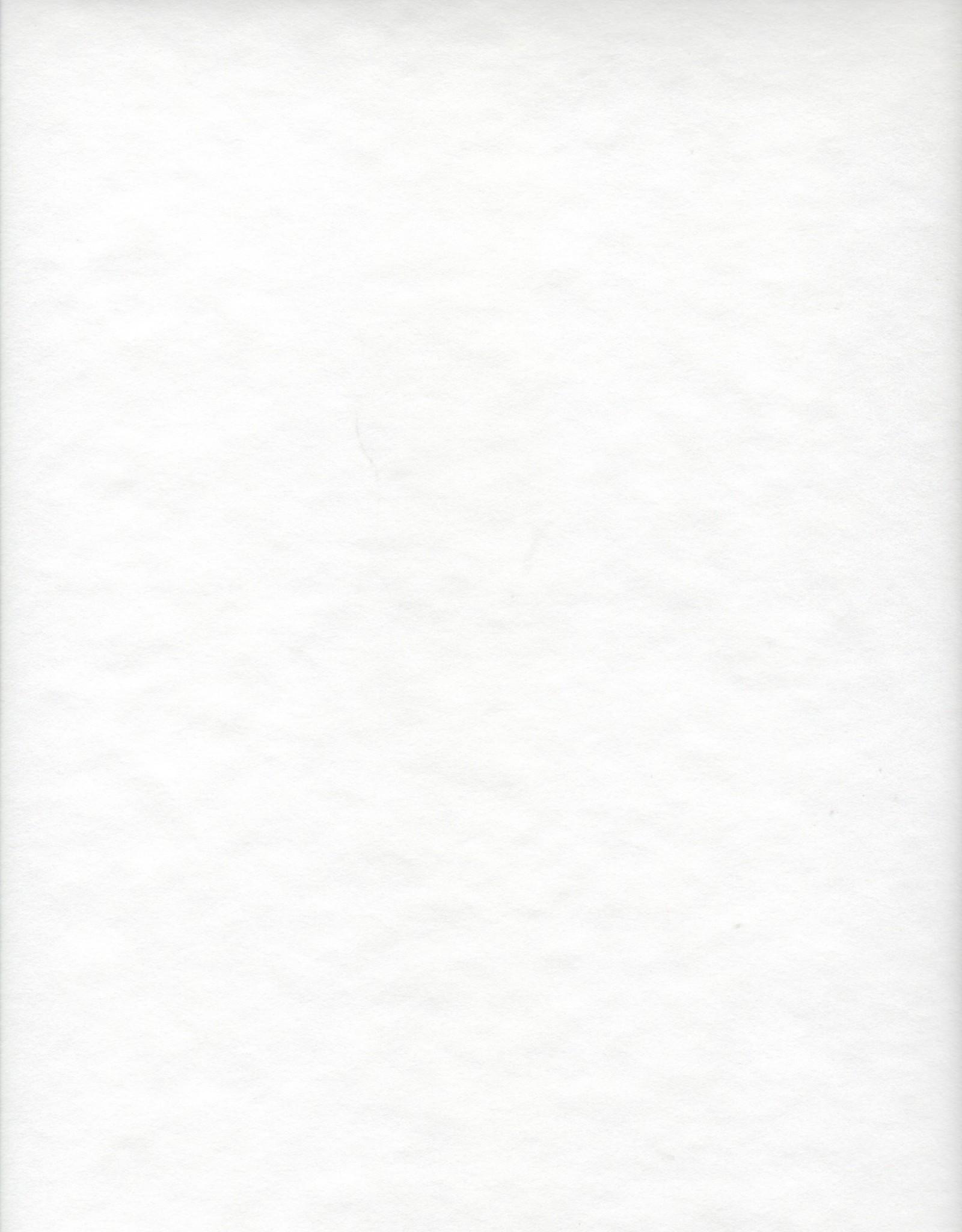 "Japanese Rayon, White, 23"" x 35"""