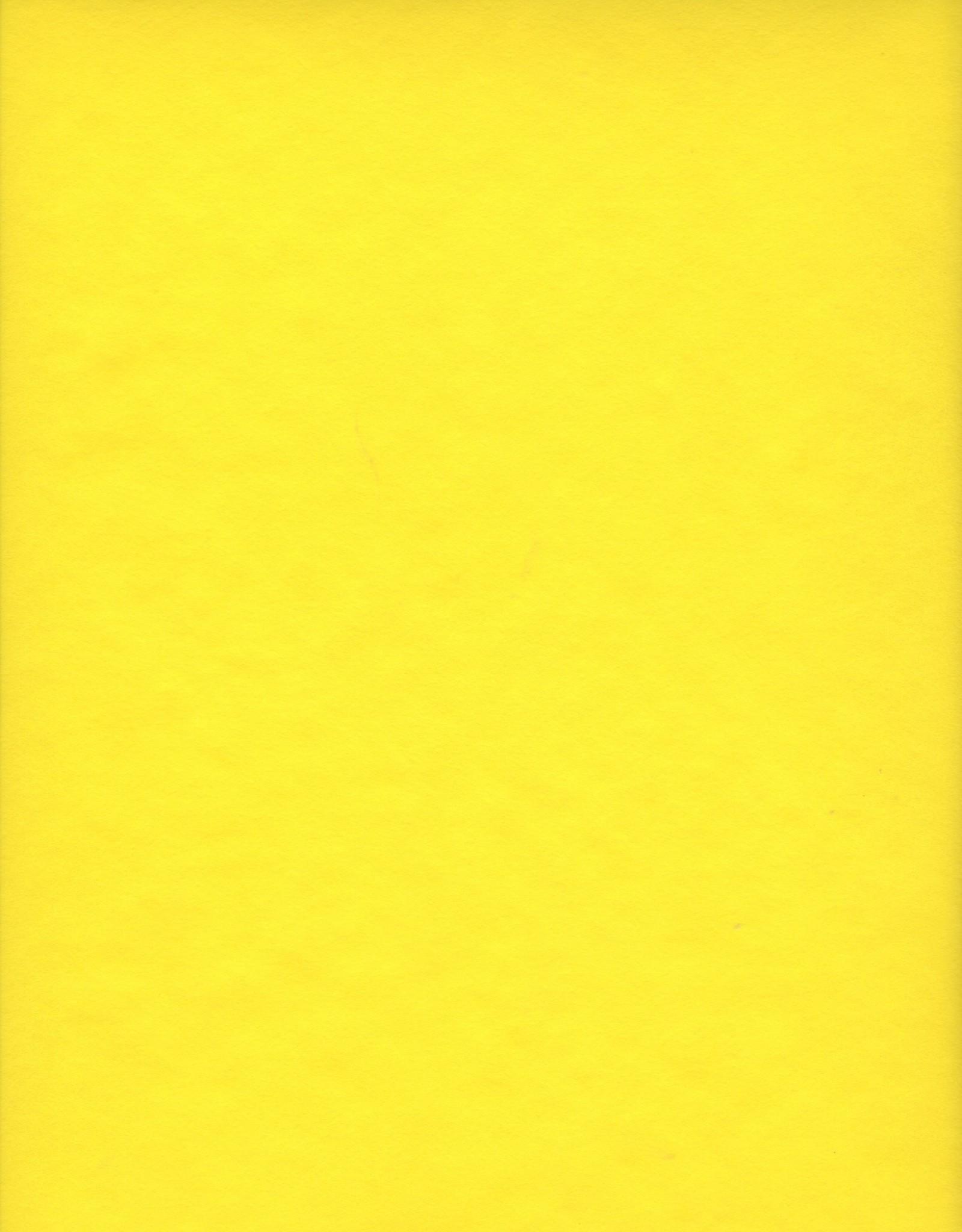 "Japanese Rayon, Yellow, 23"" x 35"""