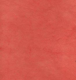 "Lokta Red-Orange, 20"" x 30"", 60gsm"