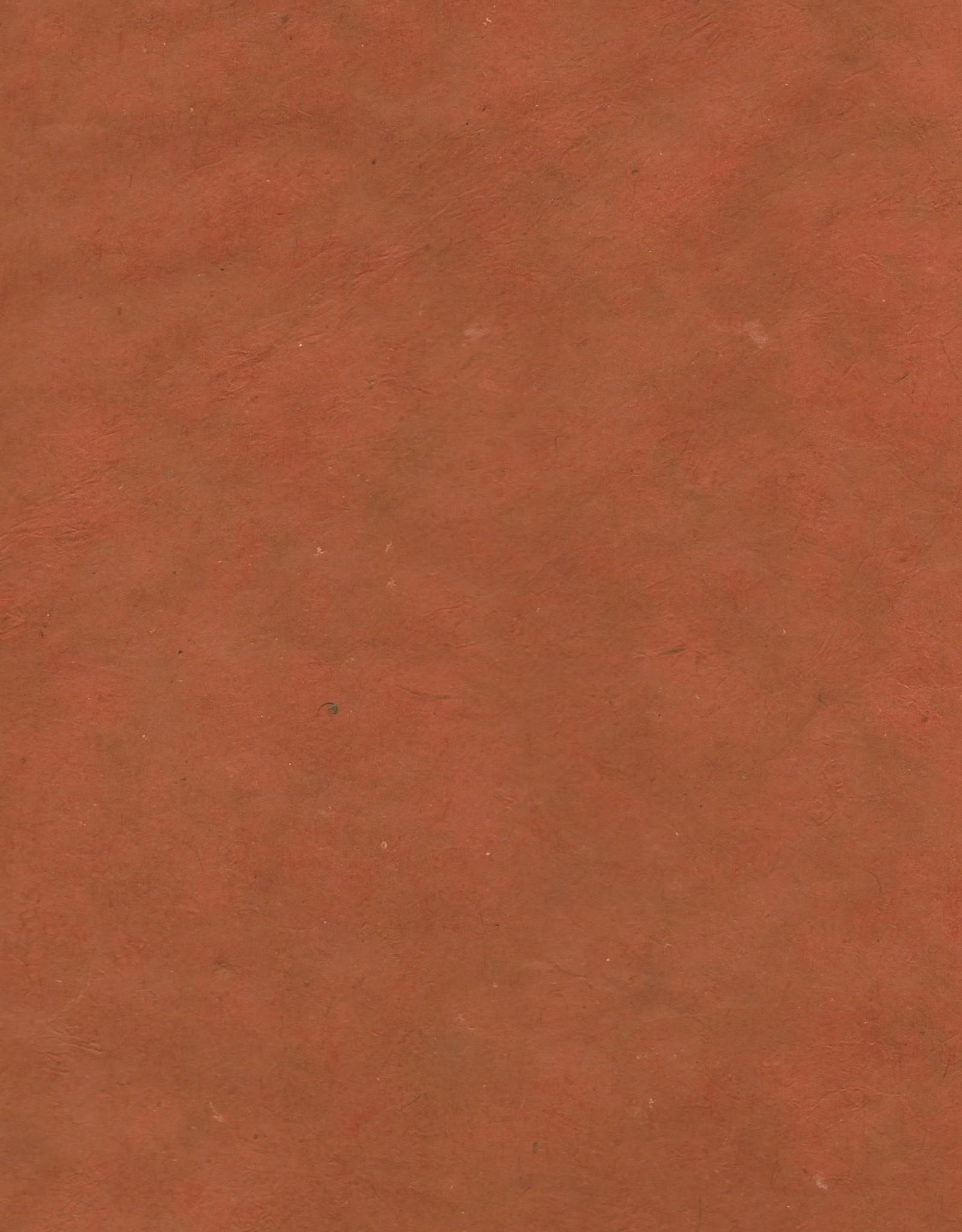 "Lokta Red-Earth, 20"" x 30"", 60gsm"