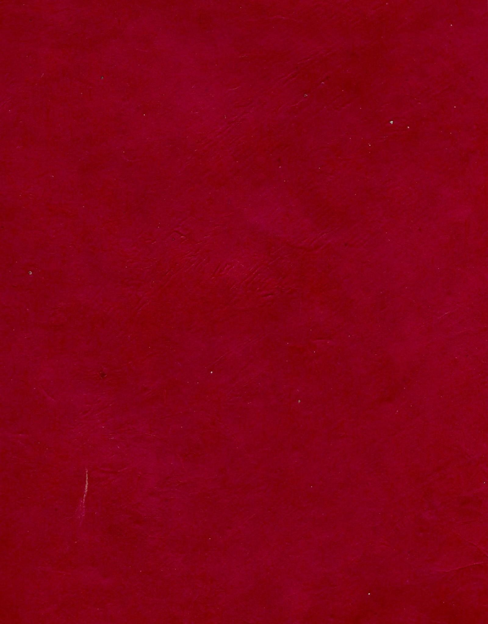 "Lokta Red (Garnet), 20"" x 30"", 60gsm"