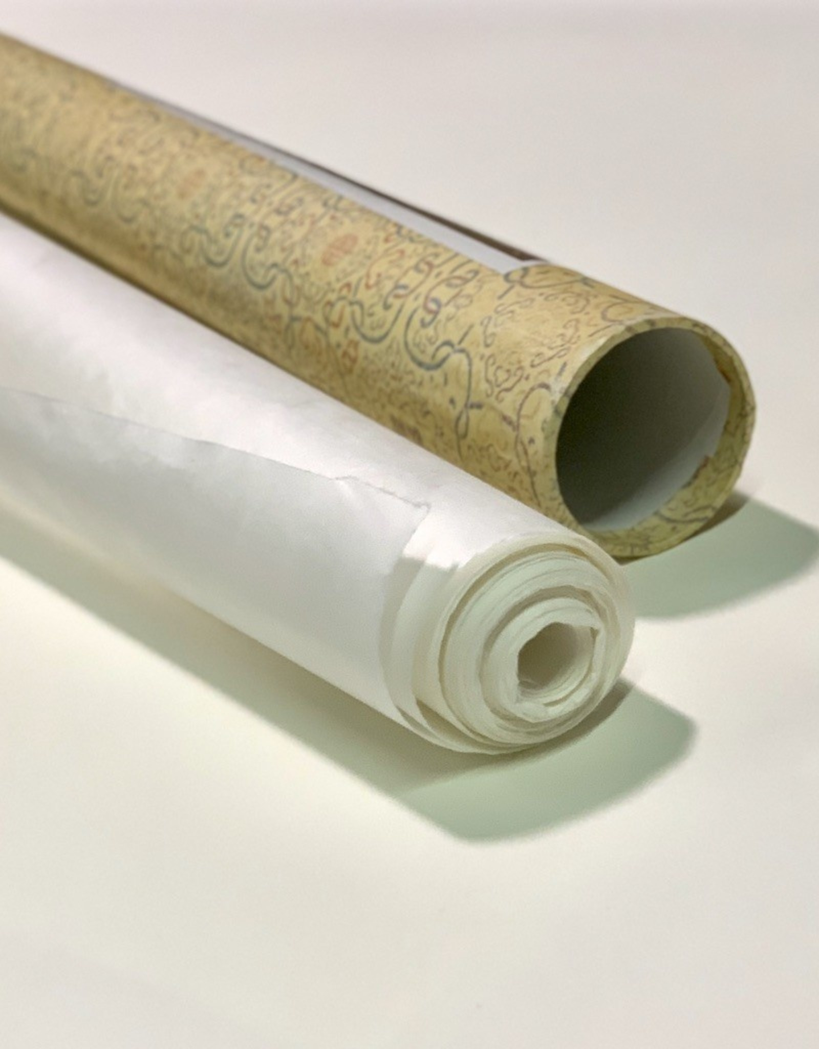 "Chinese Mulberry Roll, Natural White 27"" x 11 yards, 30 gsm"
