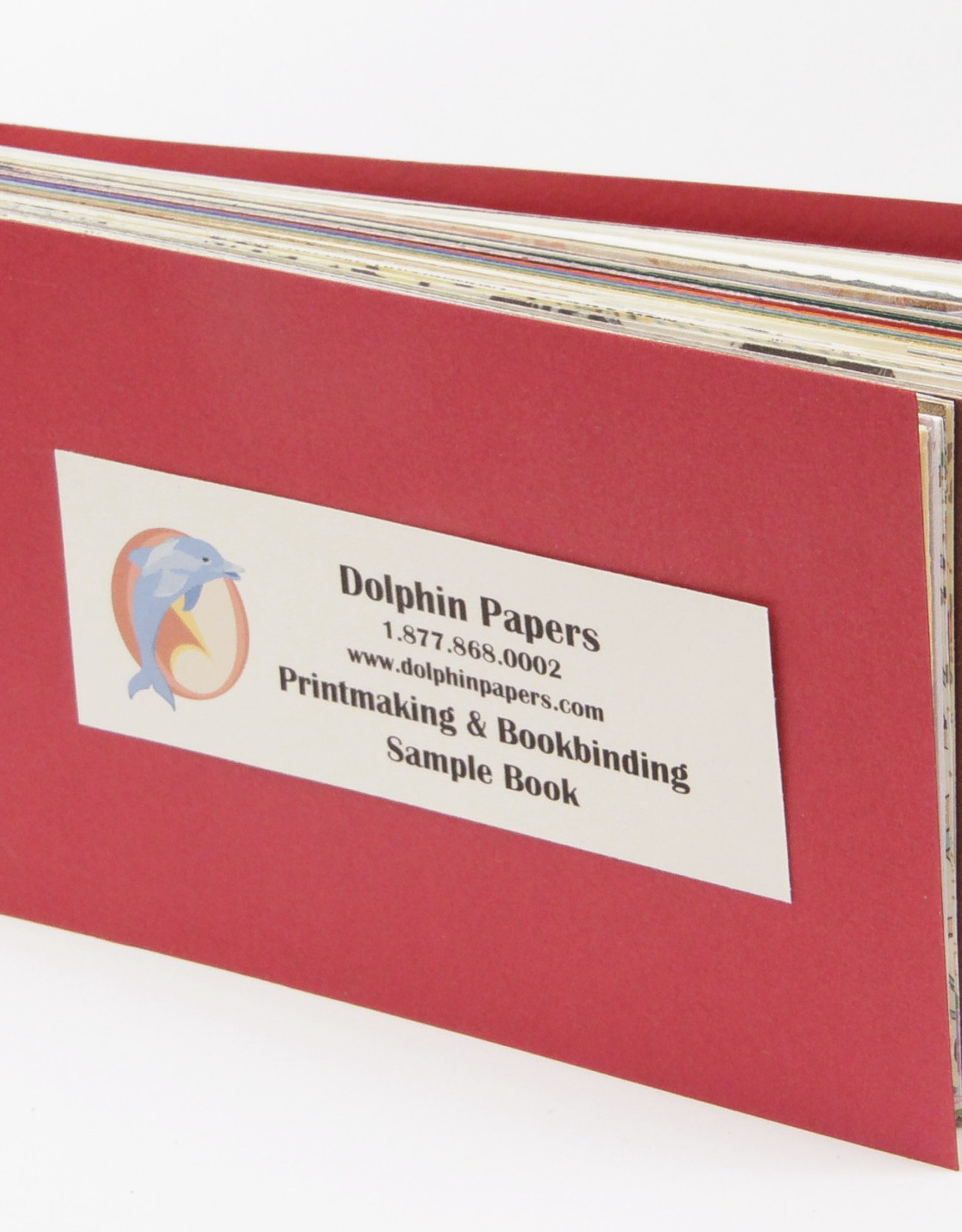Dolphin Papers Printmaking & Bookbinding, Sample Book