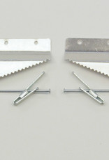 """Wall Buddies, Self-Leveling Picture Hangers, 26"""" x 34"""" or Larger- Holds up to 30lbs."""