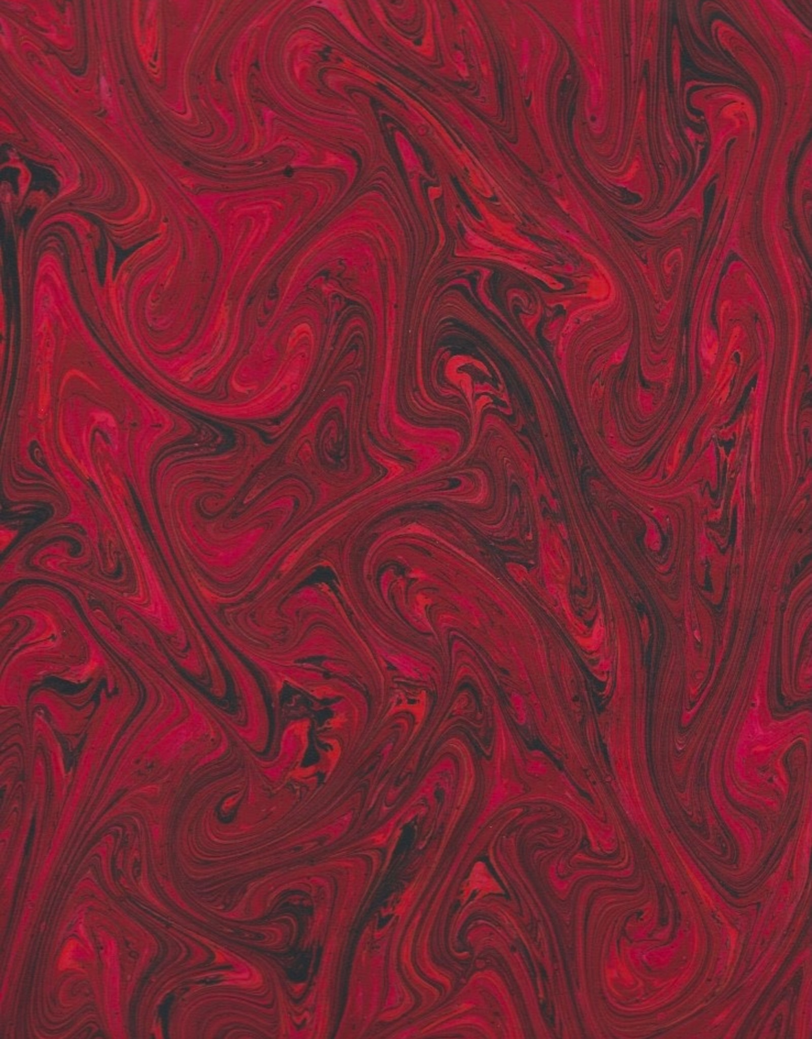 """French Marble #609, Red 19"""" x 25"""""""