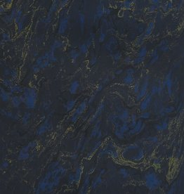 """France French Marble #924, Blue 19"""" x 25"""""""