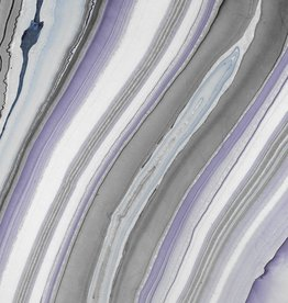 "Momi Marbled Smokey Tanzanite, 25"" x 37"", 37 gram"