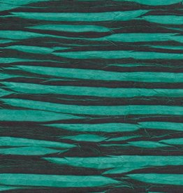 "Electric Zigzag, Teal Green, 20"" x 30"""