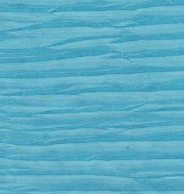 """Nepal Electric Zigzag, Blue, 20"""" x 30"""""""