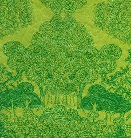 "Nepal Jazz Paradise Green, 20"" x 30"""