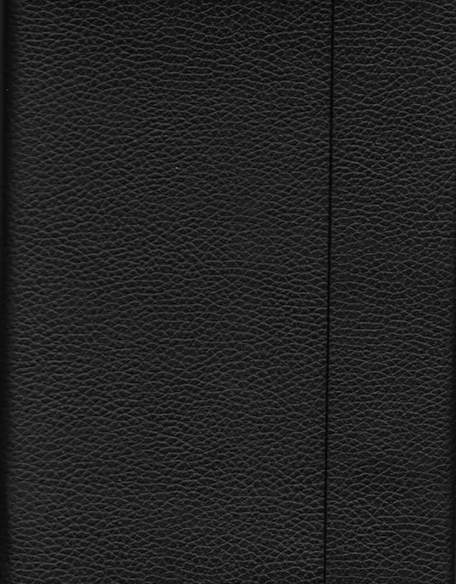 """Black, Faux Leather, Journal with Grid, Dot Grid, and Blank Pages, 192 white pages, 6.25"""" x 8.5"""", 80gsm, Magnetic Flap"""