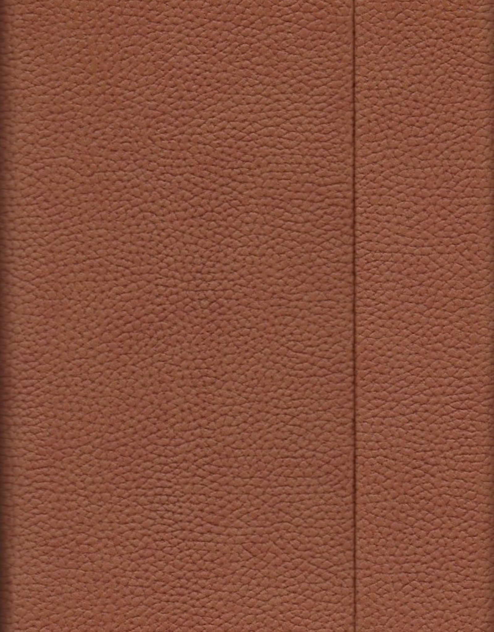 "Brown, Faux Leather, Journal with Grid Pages, 192 white pages, 6.25"" x 8.5"", 80gsm, Magnetic Flap"