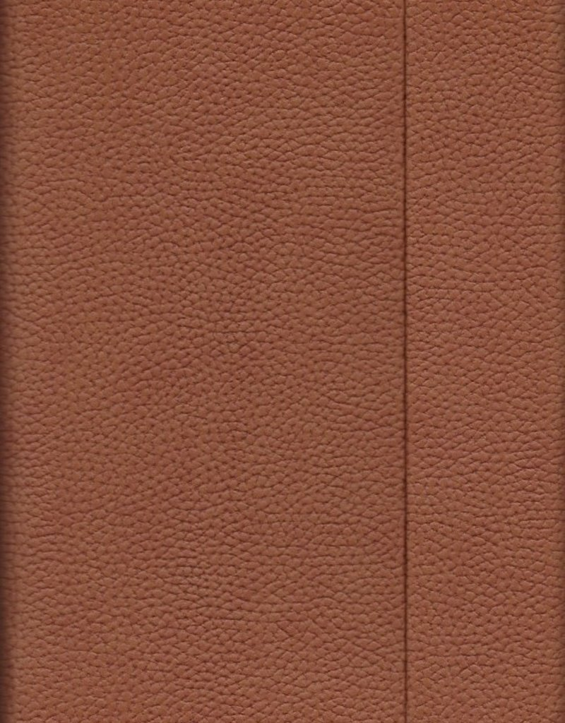 """Brown, Faux Leather, Journal with Grid Pages, 192 white pages, 6.25"""" x 8.5"""", 80gsm, Magnetic Flap"""