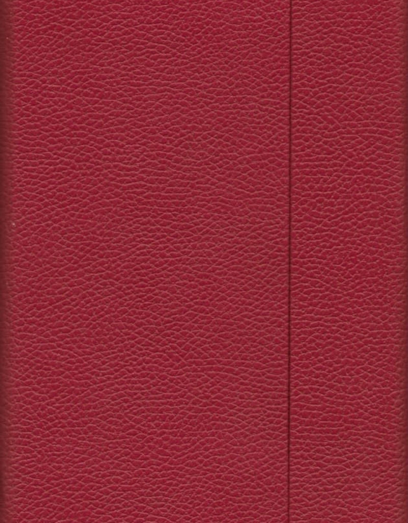 "Burgundy, Faux Leather, Journal with Blank Pages, 192 white pages, 6.25"" x 8.5"", 80gsm, Magnetic Flap"