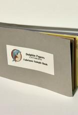 """Dolphin Fabriano, Sample Book, 6.5"""" x 3.5"""""""