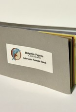 "Dolphin Papers Fabriano, Sample Book, 6.5"" x 3.5"""