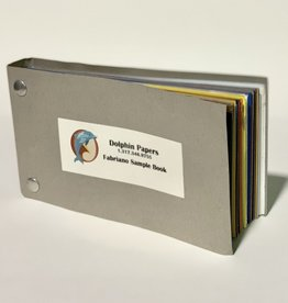 """Dolphin Papers Fabriano, Sample Book, 6.5"""" x 3.5"""""""