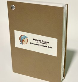 """Dolphin Papers Watercolor Swatch, Sample Book 5"""" x 7"""""""