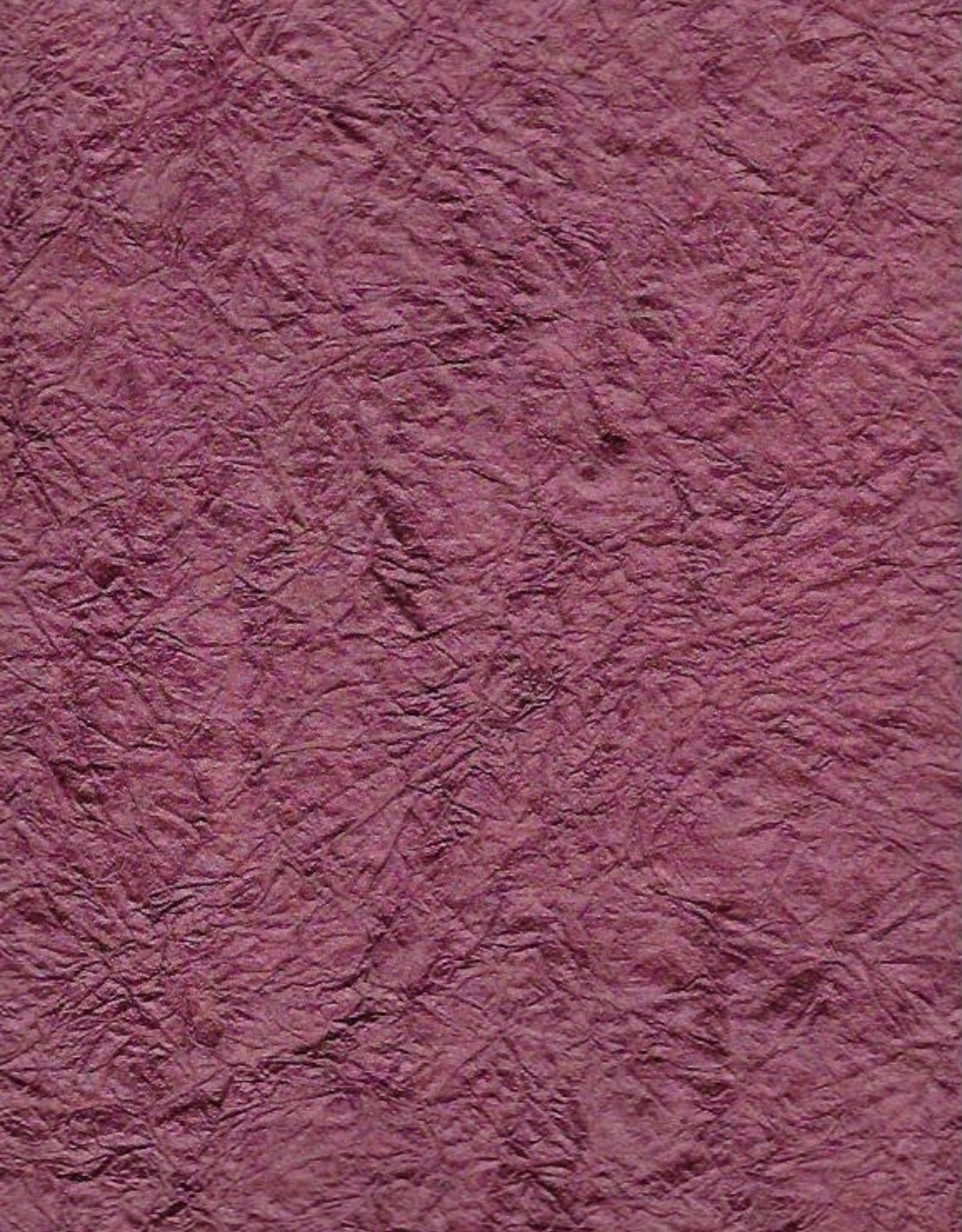 "Hindumomi Crinkle Metallic Wine, 22"" x 30""  200gsm"