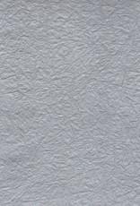"Hindumomi Crinkle Silver, 22"" x 30""  200 gsm"