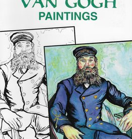 Color Your Own VAN GOGH Paintings, Coloring Book