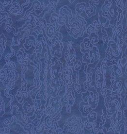 """Tibetan Cloud Dark Blue, 20"""" x 30"""""""