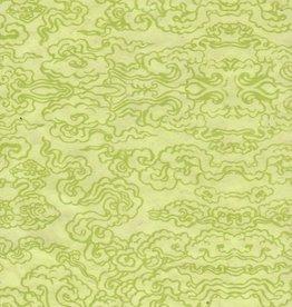 """Tibetan Cloud Key Lime, 20"""" x 30"""""""