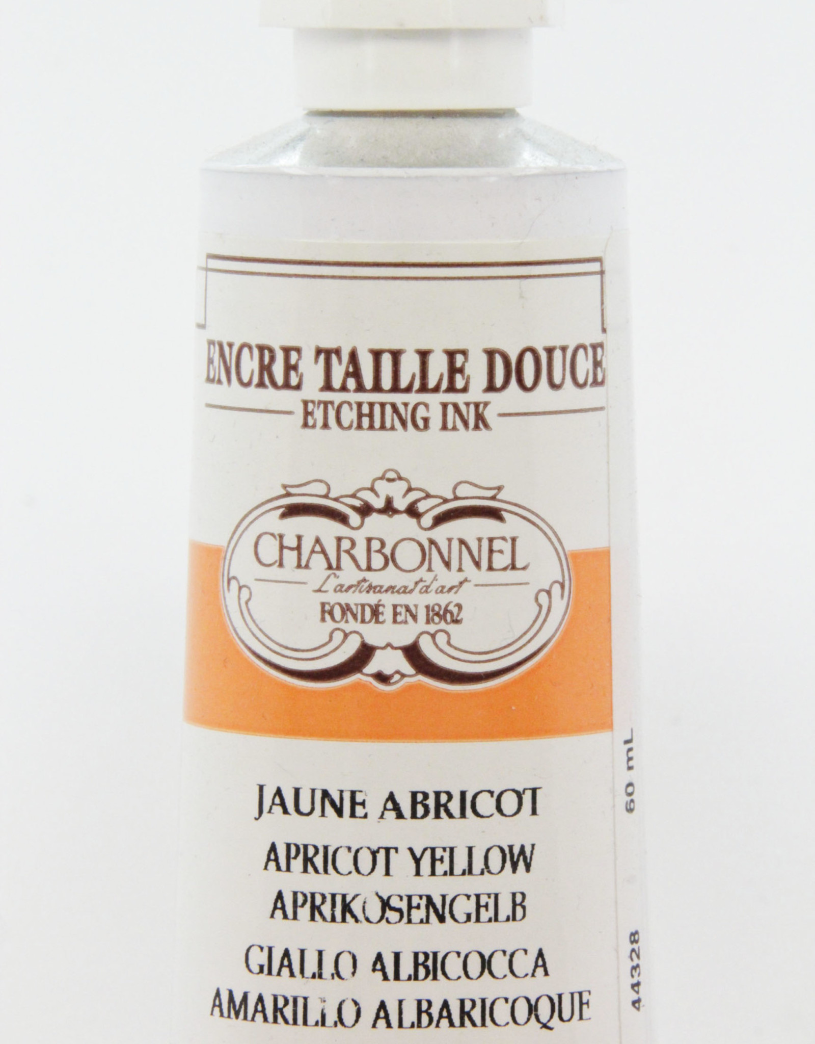 Charbonnel, Etching Ink, Apricot Yellow, Series 4, 60ml, Tube