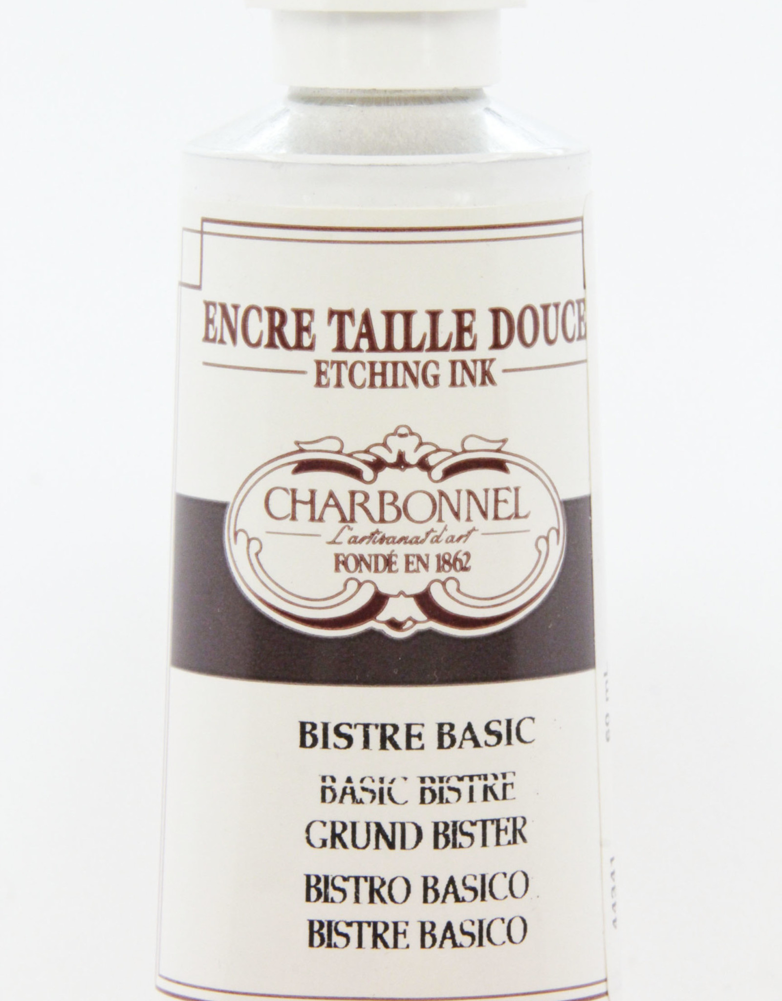 Charbonnel, Etching Ink, Bistre, Series 2, 60ml, Tube