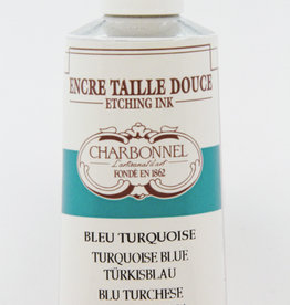 Charbonnel, Etching Ink, Turquoise Blue, Series 2, 60ml, Tube