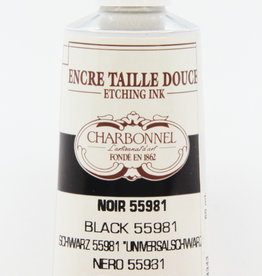Charbonnel, Etching, Universal Black 55981, Series 2, 60ml, Tube