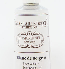 Charbonnel, Etching Ink, Snow White RS, Series 2, 60ml, Tube