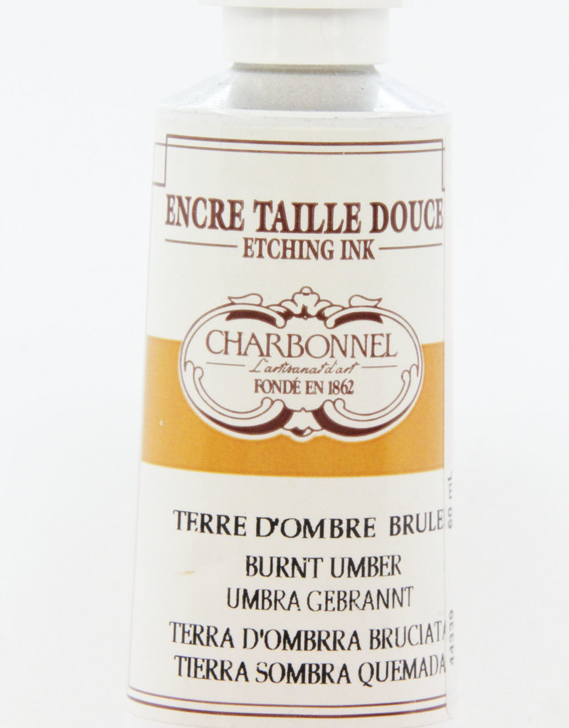 Charbonnel, Etching Ink, Burnt Umber, Series 2, 60ml, Tube