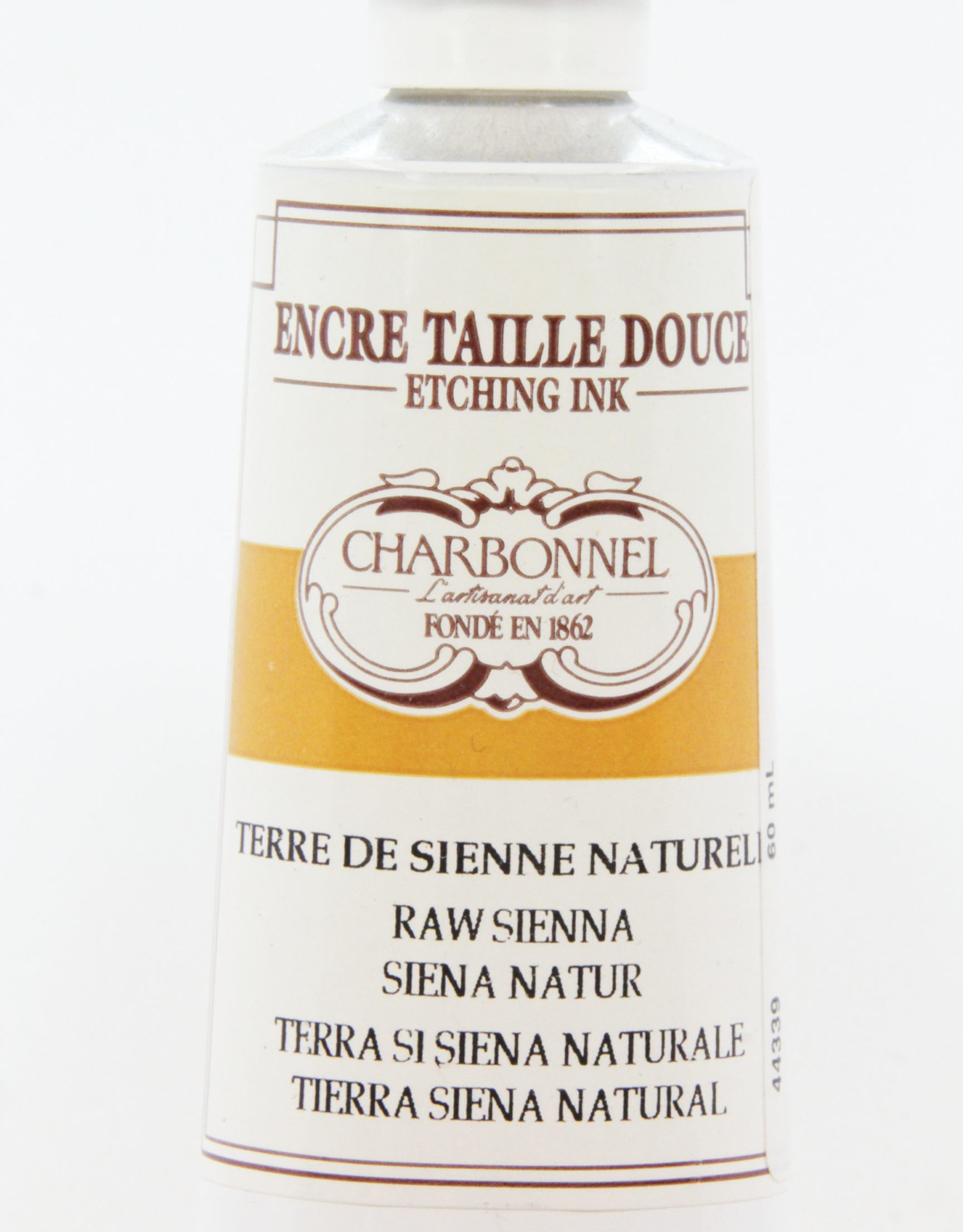 Charbonnel, Etching Ink, Raw Sienna, Series 2, 60ml, Tube