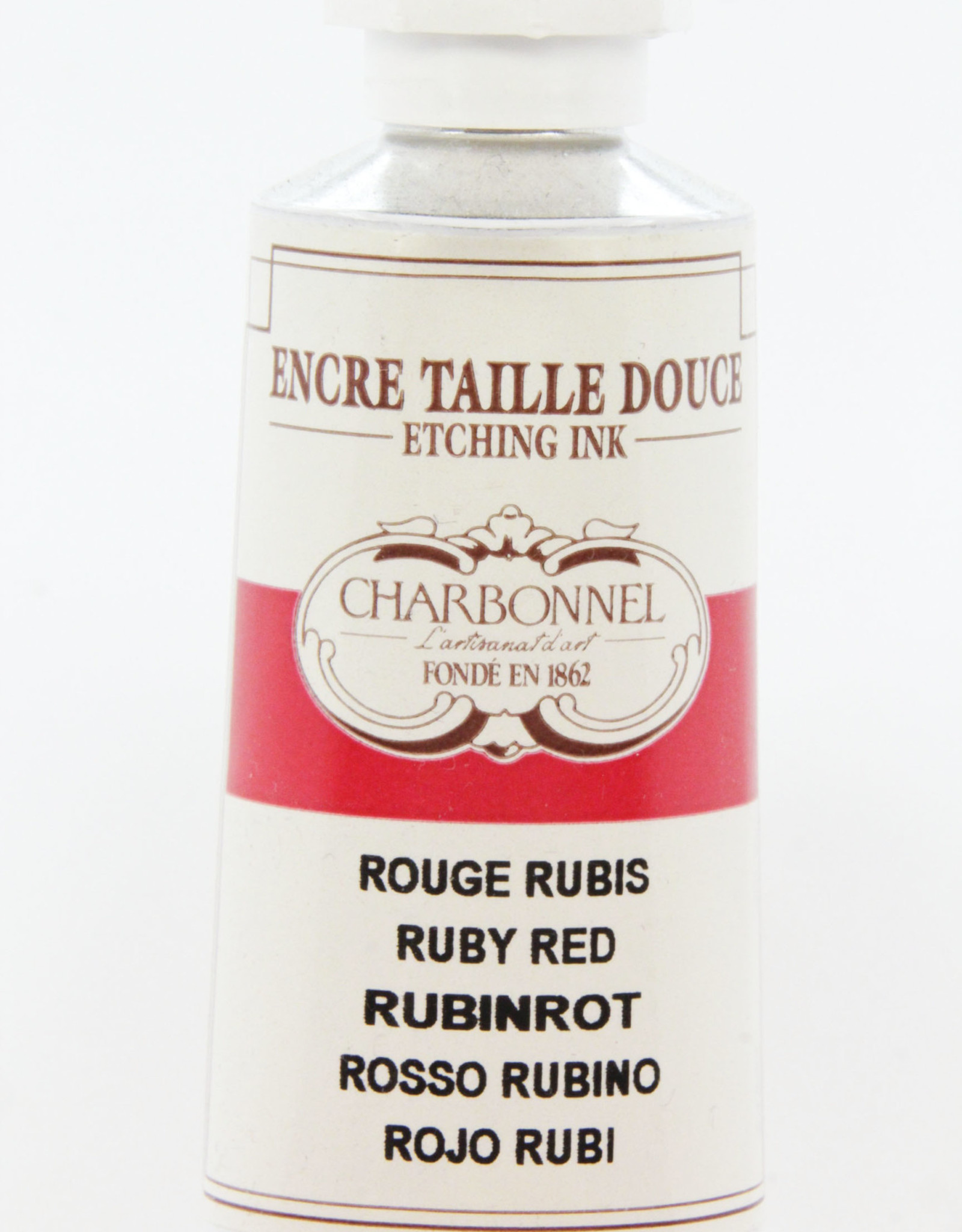 Charbonnel, Etching Ink, Ruby Red, Series 6, 60ml, Tube